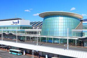 画像:東京国際空港第2旅客ターミナル